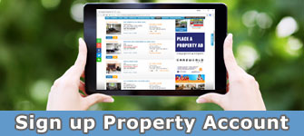 Sign up Property Account