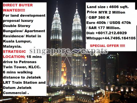 RESIDENTIAL LAND & OLD BUNGALOW KL